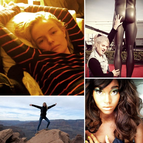 Pictures of Celebrities and Models on Twitter Jan 31, 2011