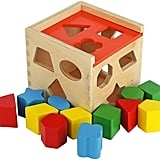 Toy Chest NYC Colorful Shape Sorting Puzzle Cube