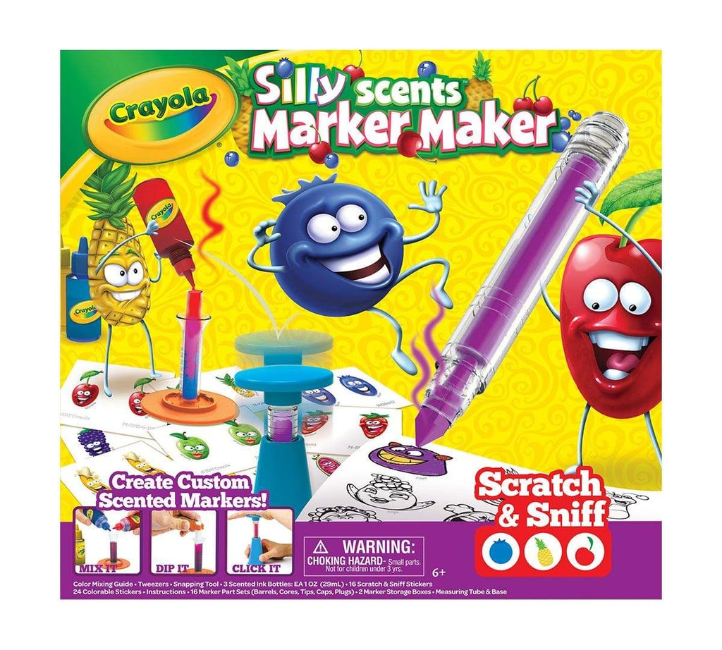 For 5-Year-Olds: Crayola Silly Scents Marker Maker