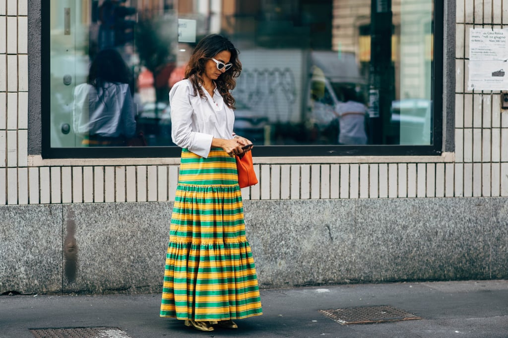 Milan Fashion Week Street Style Spring 2019