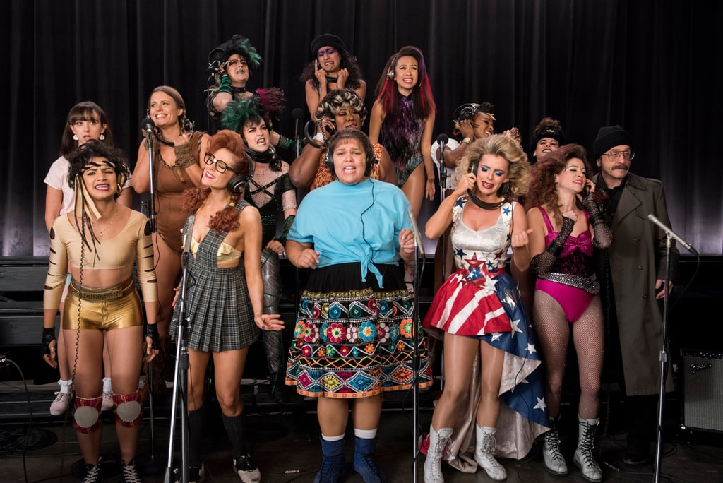 glow tv show cast in real life popsugar entertainment