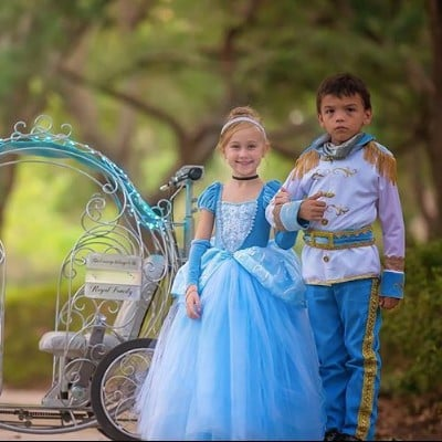 Cinderella Carriage Strollers at Disney World