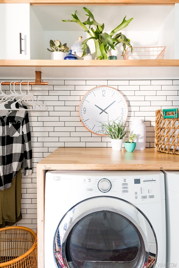 Sliding Cabinets | This DIY Laundry Room Makeover Is ...
