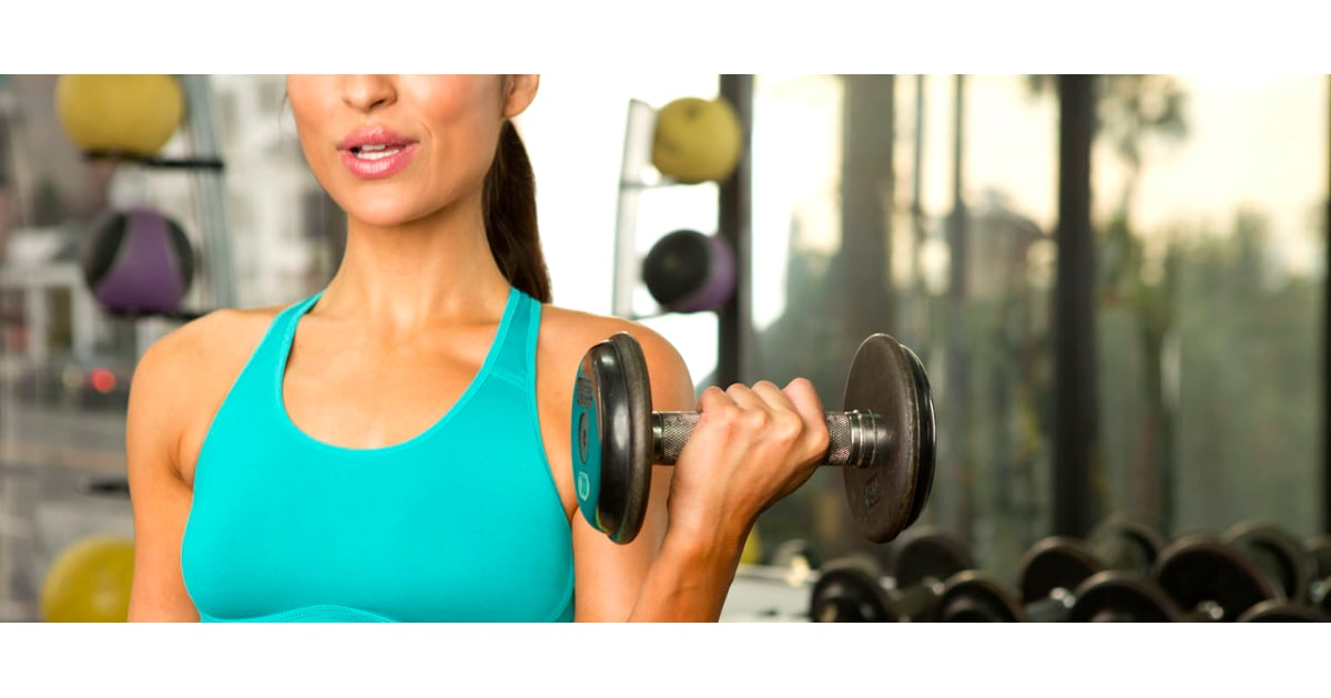 What Size Dumbbells to Use | POPSUGAR Fitness