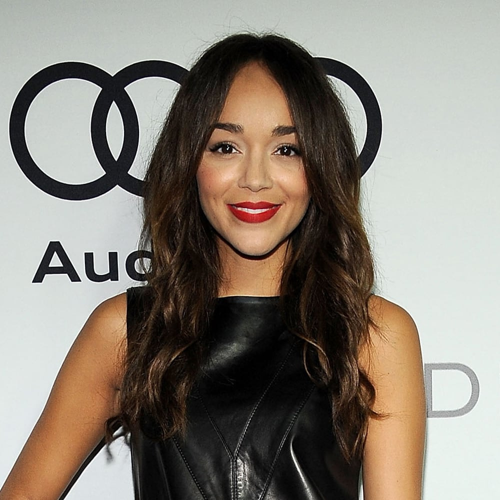 We love Ashley Madekwe's slightly 'undone' hair here. It looks like the handiwork of a beach spray, no? You need a serious sea salt spray to get the sexily tousled look — we like Instant Rockstar Beach Rock Ocean Spray ($22.95).