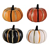 Hyde and Eek! Boutique Mini Halloween Striped Pumpkins