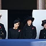 Kate Middleton attended Remembrance Sunday 2012.