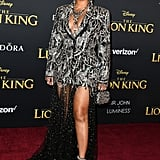 Beyoncé at the Lion King Premiere