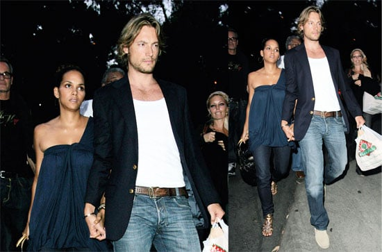 Photos of Halle Berry and Gabriel Aubry at Stevie Wonder Concert