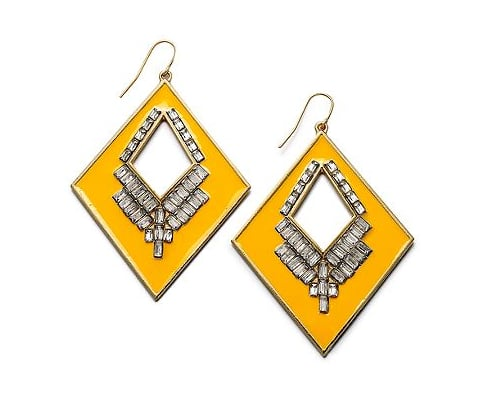Bar III Orange Earrings ($32)