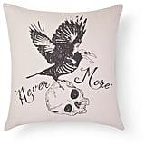 Halloween Never More Pillow ($20)