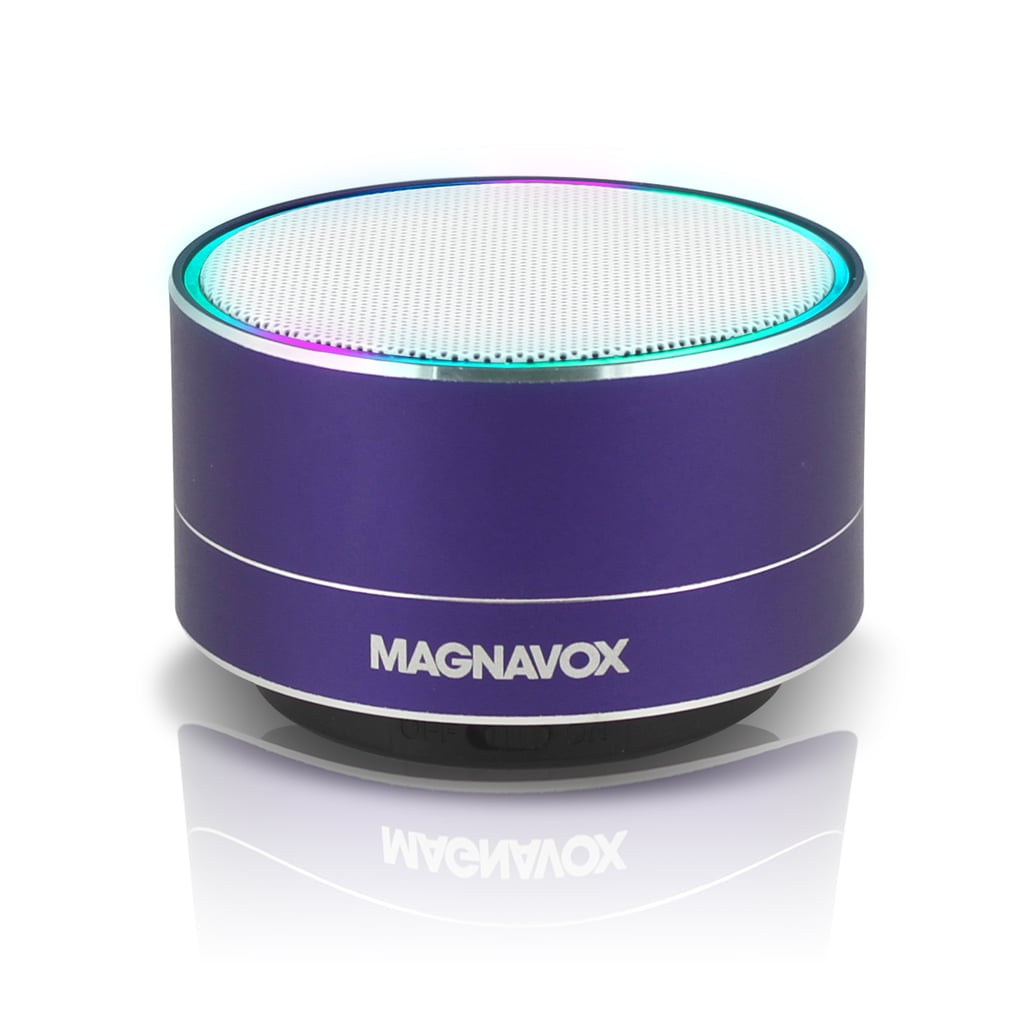 Magnavox Portable Speaker With Bluetooth and Decorative Lights
