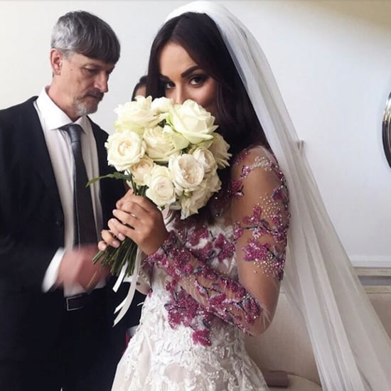 Monika Radulovic's Wedding Dress