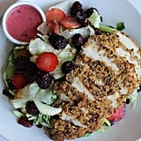 Pecan Crusted Chicken Salad With Boysenberry Dressing at Spurs