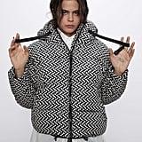 Zara Print Puffer Jacket