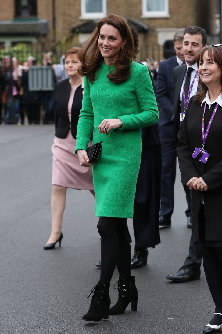Elizabeth Auto Sales >> Kate Middleton's Green Dress by Eponine London 2019   POPSUGAR Fashion Photo 14