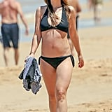Olivia Wilde Bikini Baby Bump Photos April 2016