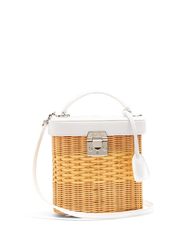 An on-trend basket bag