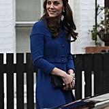 كيت ميدلتون تزور مركز آنا فرويد في لندن في شهر يناير 2017