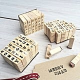 Mini Alphabet Stamp Set ($5)