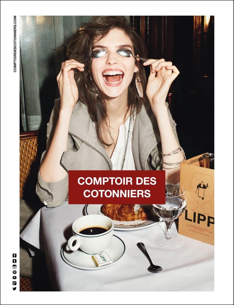 Spring 2014 fashion campaign pictures popsugar fashion - Magasin d usine comptoir des cotonniers ...