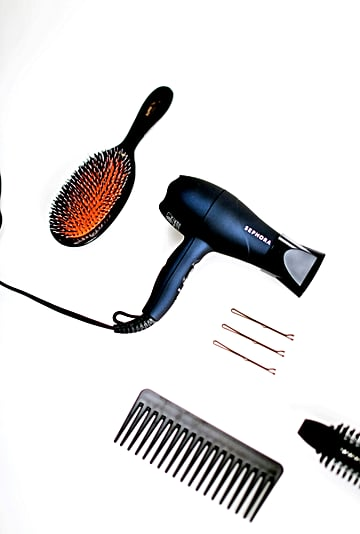 Marie Kondo's KonMari Method For Hair Tools