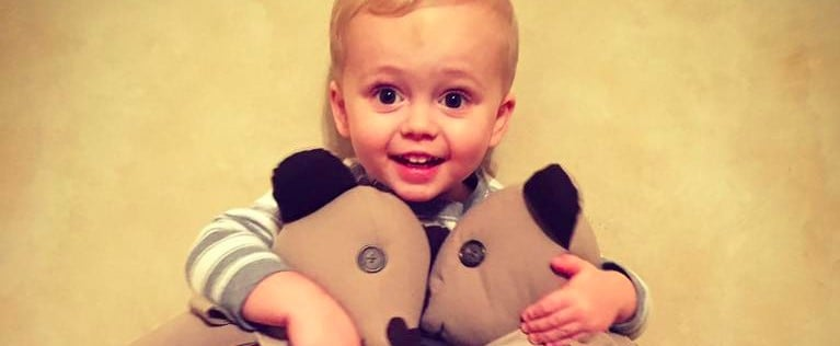 This Early Christmas Gift After His Dad's Death Is Exactly What 1 Toddler Needed