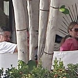 George Clooney and Stacy Keibler Relax With Their Crew —Including ARod! —In Cabo