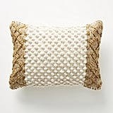 Joanna Gaines For Anthropologie Textured Eva Pillow in Ivory