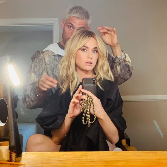 Katy Perry's Blonde Lob