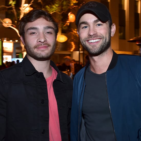 Ed Westwick and Chace Crawford at LA Event April 2015
