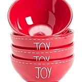Set of Four Elongated Joy Bowls