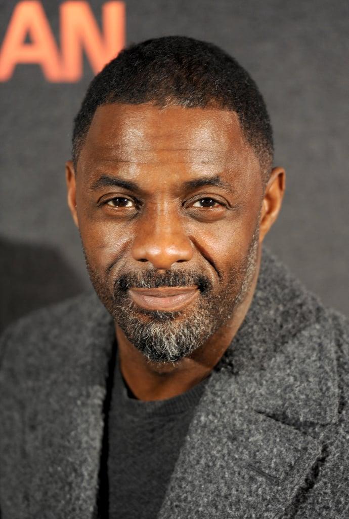 Idris Elba Hot Celebrities With Gray Hair Popsugar