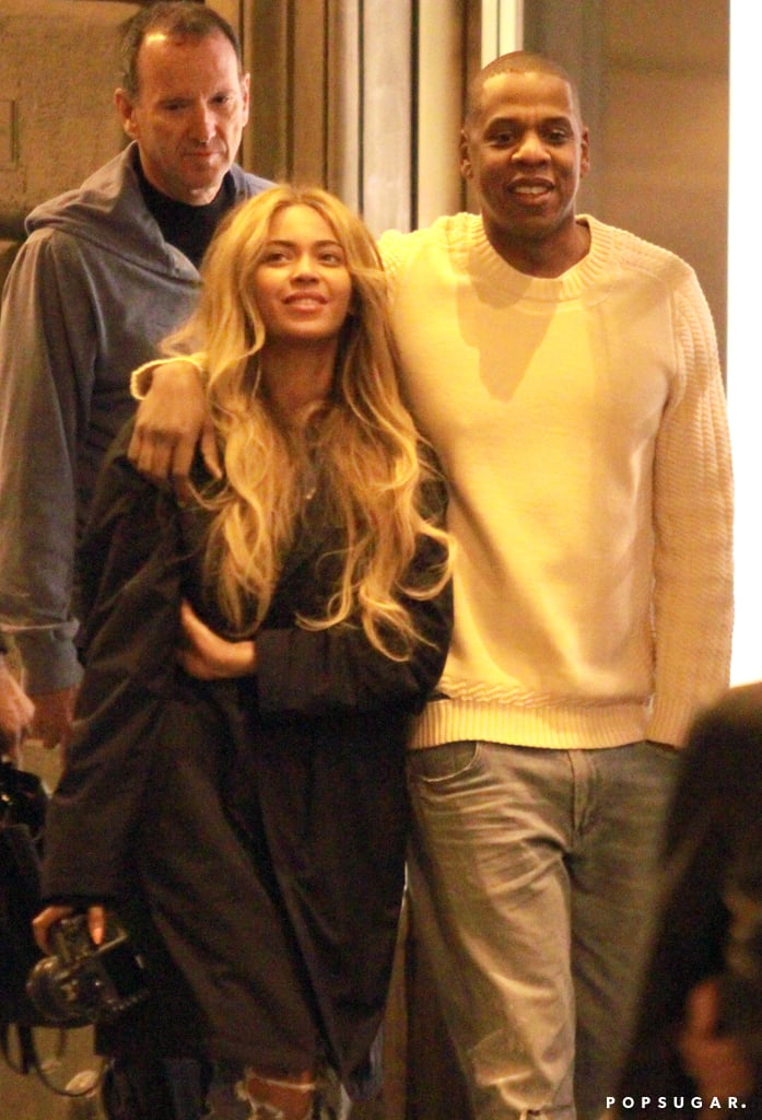 Beyonce Knowles and Jay Z Vacationing in Italy Pictures