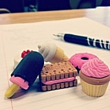 Using Scented Erasers