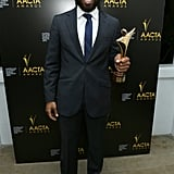 Chiwetel Ejiofor won the award for best actor.