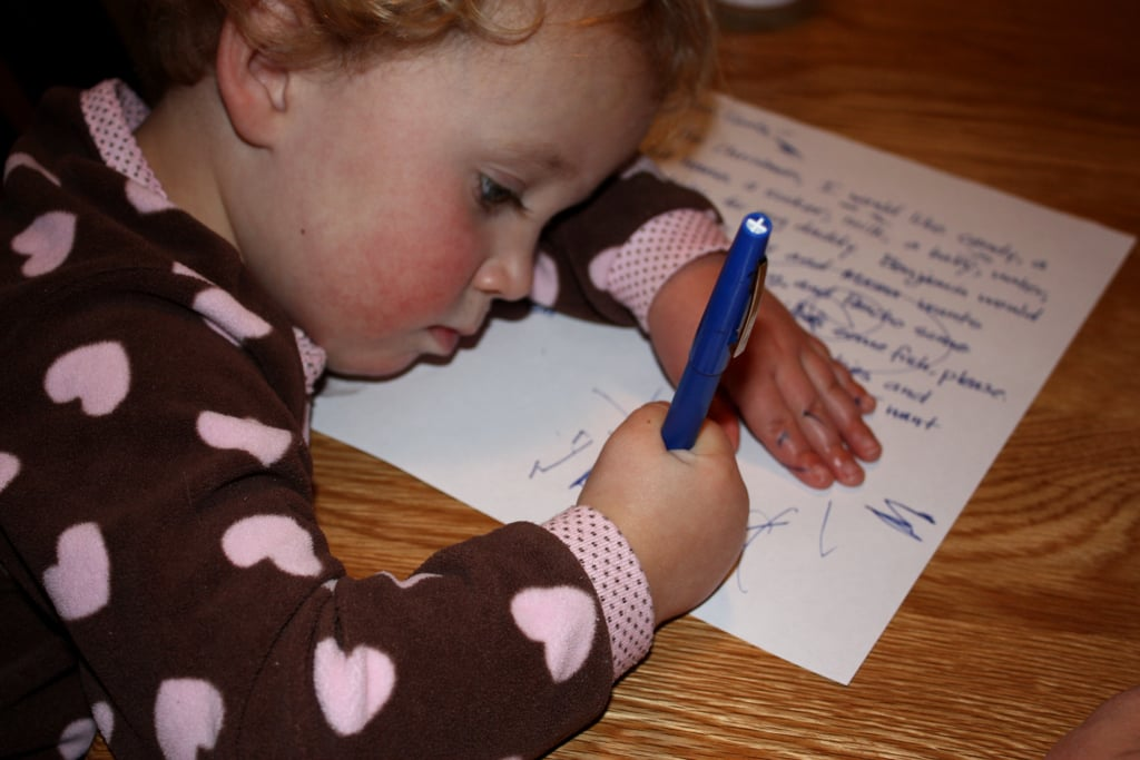 Writing Letters to Loved Ones