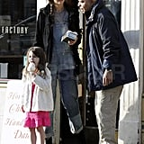 Suri left the Milk Shake Factory with two scoops of ice cream.