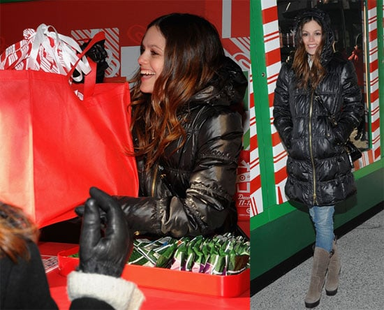 Photos of Rachel Bilson Opening the NYC Target To-Go Store