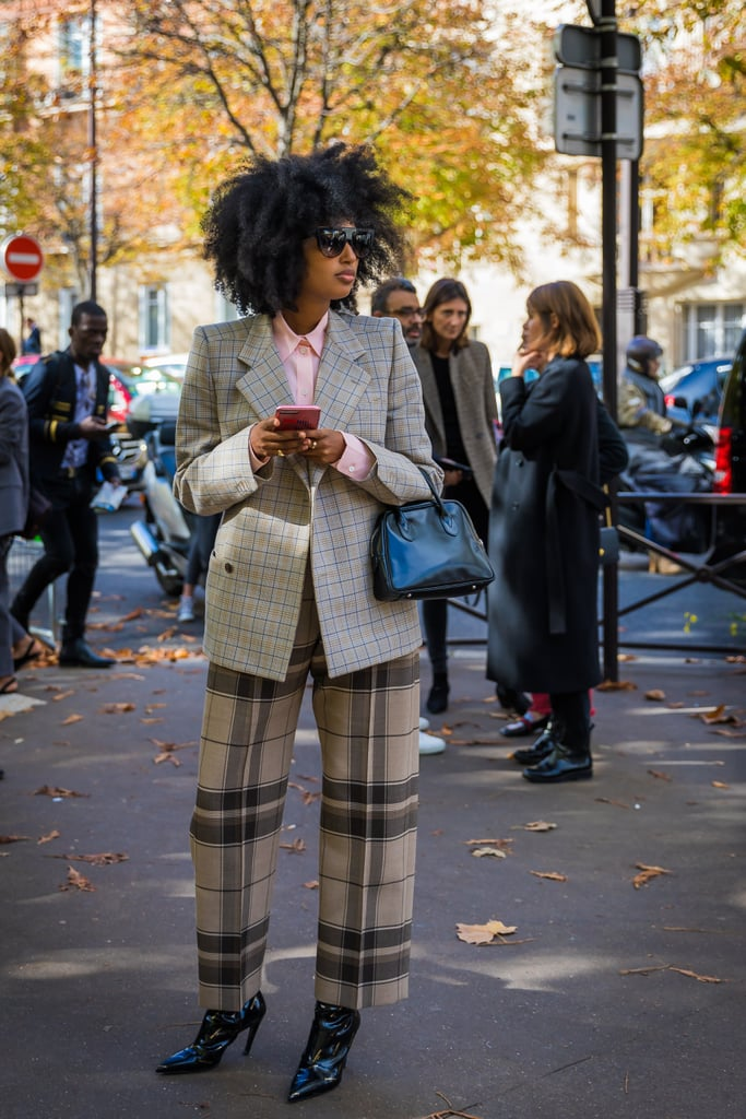 Julia Sarr-Jamois's mismatched checks offers an update on the suit.