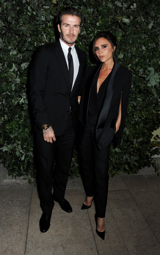 David and Victoria stepped out for a London Fashion Week event in September 2013.