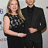 Olympic figure skater Adam Rippon and his mother, Kelly Rippon.