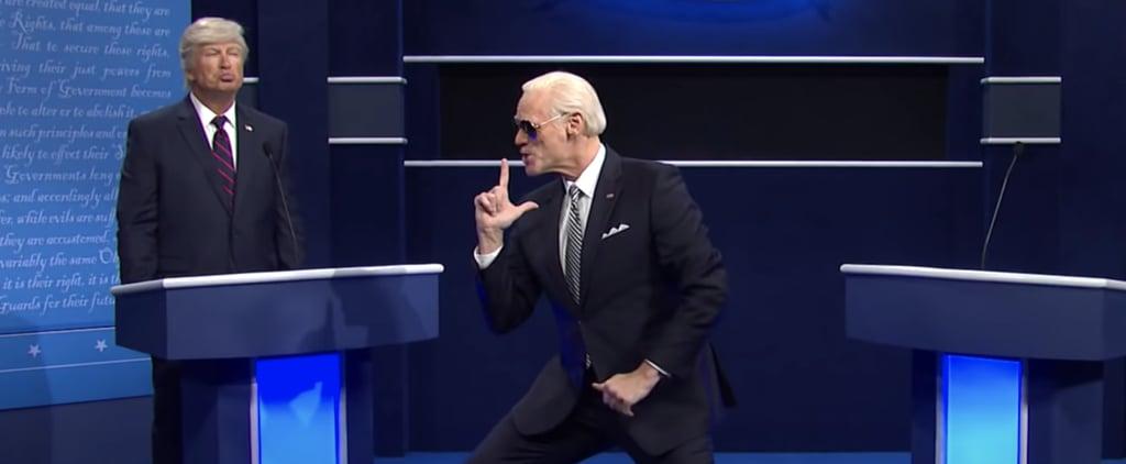 SNL: Jim Carrey as Joe Biden in Presidential Debate Skit