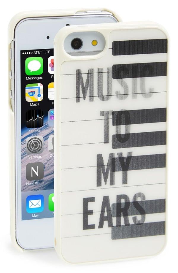 Kate Spade Lenticular Piano Keys iPhone 5 Case