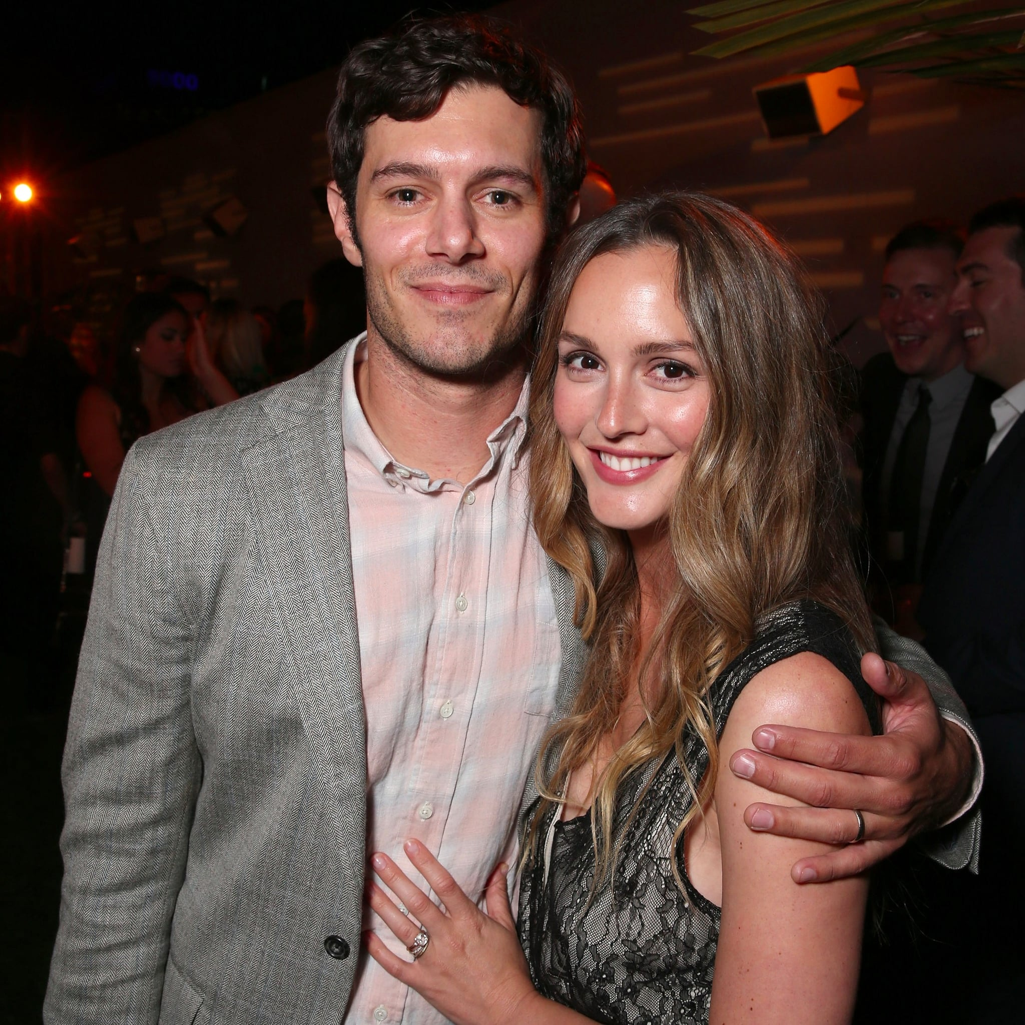 Happily married husband and wife couple: Adm Brody and Leighton Meester