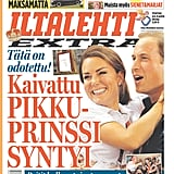 The front page of Iltalehti, from Finland, on July 23.