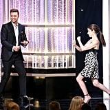 Justin Timberlake at Hollywood Film Awards 2016