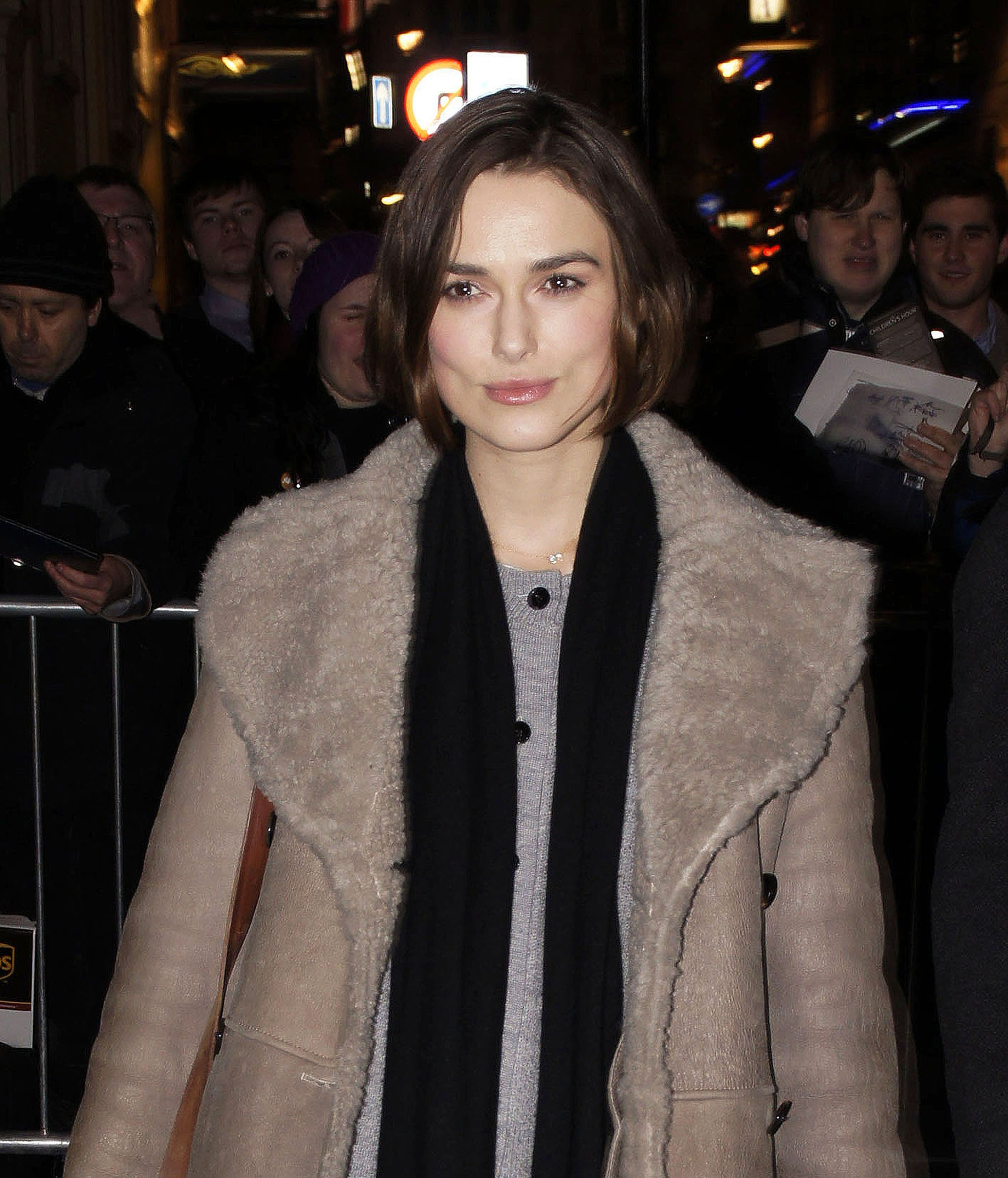 Single Keira Focuses on Her Theater Drama and, Maybe, Robert