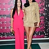 Kylie Jenner and Kourtney Kardashian