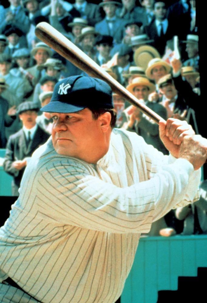 John Goodman made one spot-on Babe Ruth.